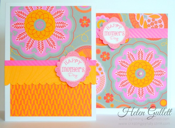 Mother's Day Cards by Helen G. | http://wp.me/p1wKGj-1kN #handmadecard #cardmaking #diy #closetomyheart #ctmh